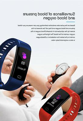 Fitness Tracker Waterproof Blood Rate Monitor