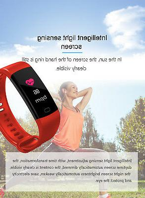 Fitness Tracker Blood Monitor