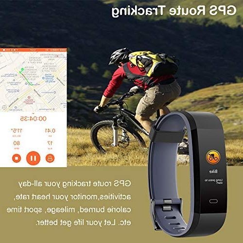 Willful Tracker Heart Monitor, Tracker Step Counter Sports Waterproof,Fitness Men Kids