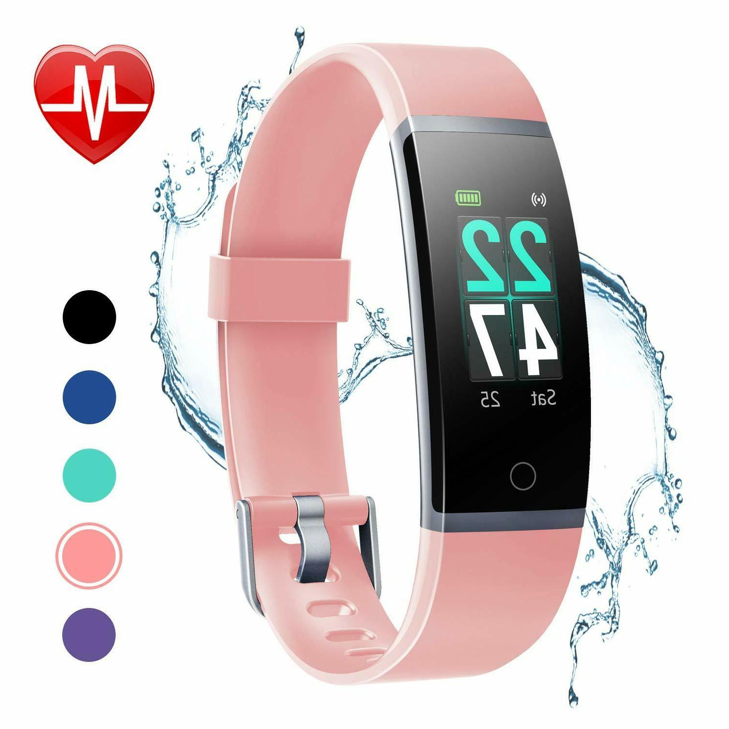 LETSCOM Fitness with Heart Rate Screen