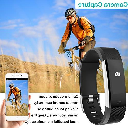 Willful Heart Rate Fitness Watch Waterproof Smart with Step Monitor,Pedometer Women