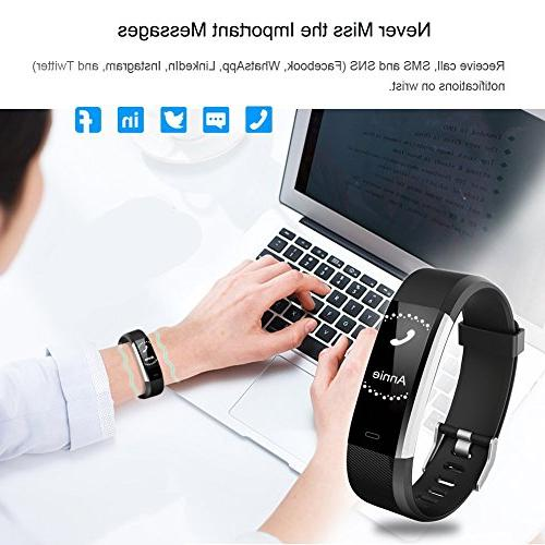 Willful Fitness Tracker with Heart Rate Monitor, Watch Activity Tracker with Step Counter 14 Monitor,Pedometer Kids Men