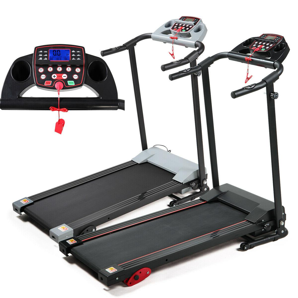 Folding Treadmill 2.0 HP Electric Motorized Fitness Running