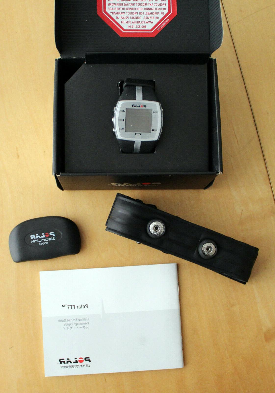 Polar FT7 Heart Monitor *chest strap watch*