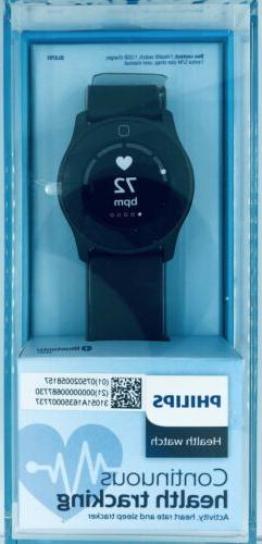 Philips Health Watch Connected Activity Sleep Tracker and He