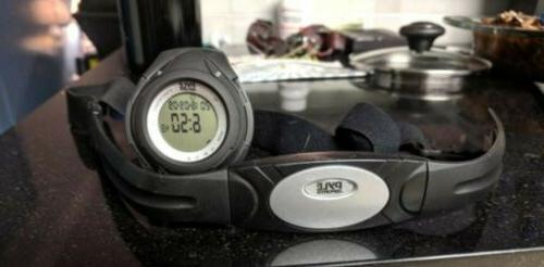heart rate monitor watch w calorie counter