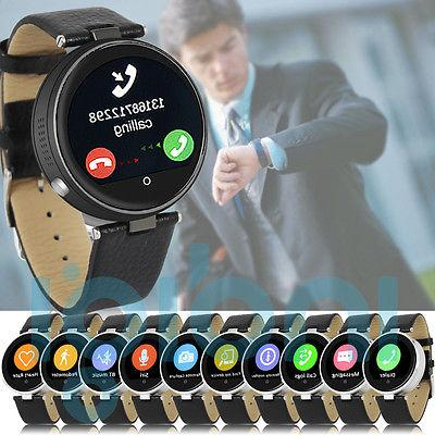 Indigi Rate Monitor Water-Resistant Bluetooth Smart Watch For