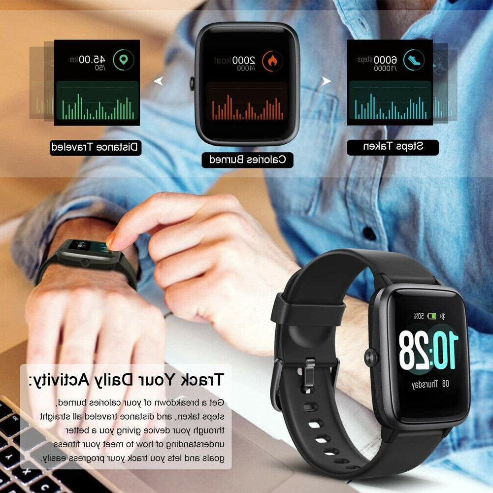 Letsfit Smart Watch Tracker with Heart Rate Monitor