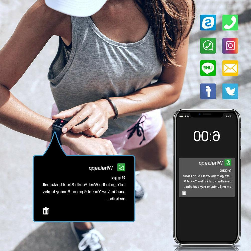 Letsfit Smart Tracker Rate Monitor Activity ID205L