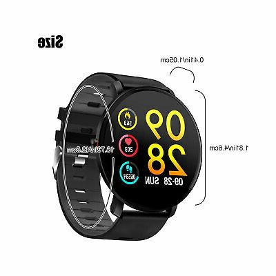 For iOS Android Smart Watch Rate Monitor Wristband