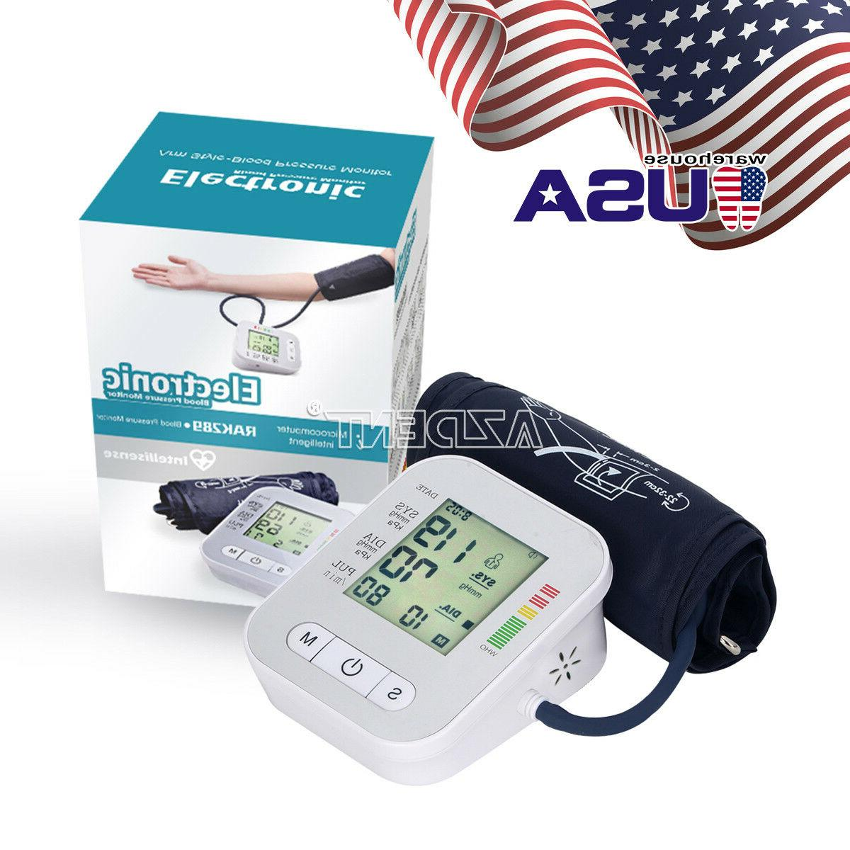 LCD Blood Pressure Electric Heart Beat