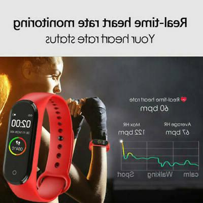 M4 Heart Rate Blood Fitness Tracker
