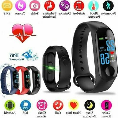 m4 smart band watch heart rate blood