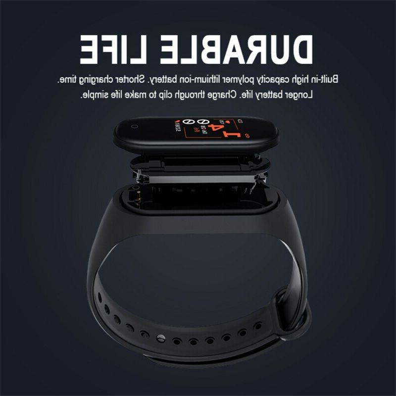 M4 Smart Band Heart Rate Monitor Tracker Fitness Wristband