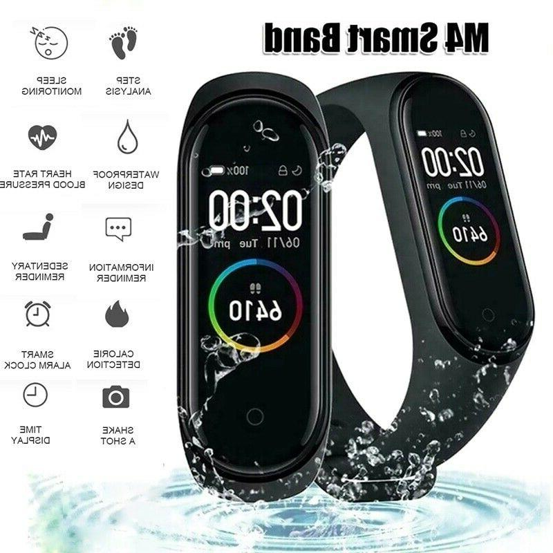 M4 Heart Rate Pressure Monitor Fitness