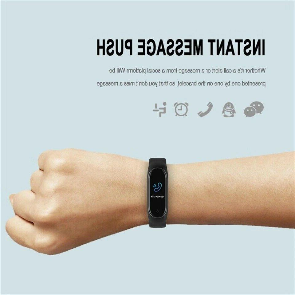M4 Heart Rate Monitor Tracker Wristband