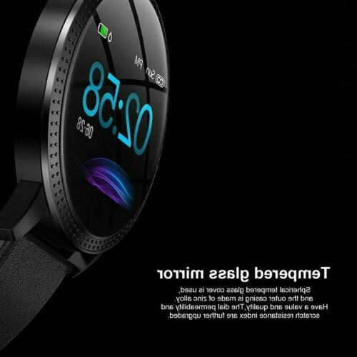 Men Bluetooth Smart Watch Heart Gifts Android iPhone