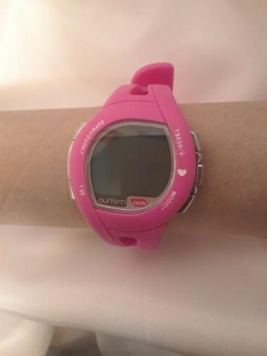 montiva pink heart rate monitor