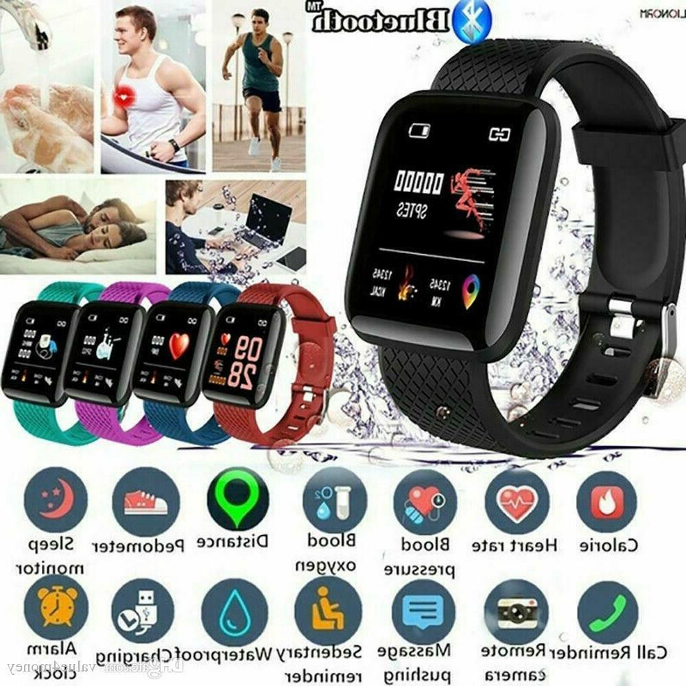 New Watch Blood Pressure Rate Fitness Band
