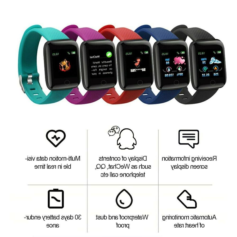 New Smart Watch Pressure Heart Rate Monitor Fitness