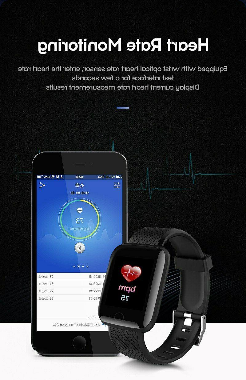 New Smart Watch Pressure Rate Fitness
