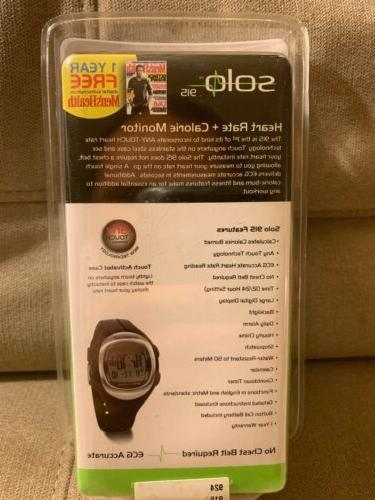 New Solo Heart Rate Monitor Watch Sealed