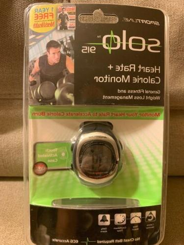 new solo 915 heart rate calorie monitor