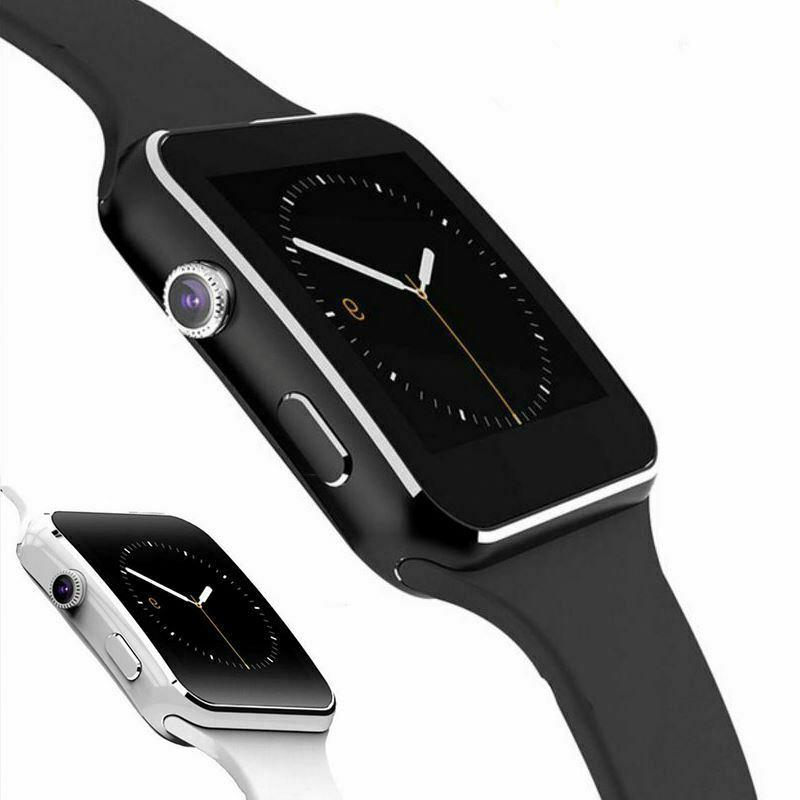new x6 curved screen bluetooth smart watch