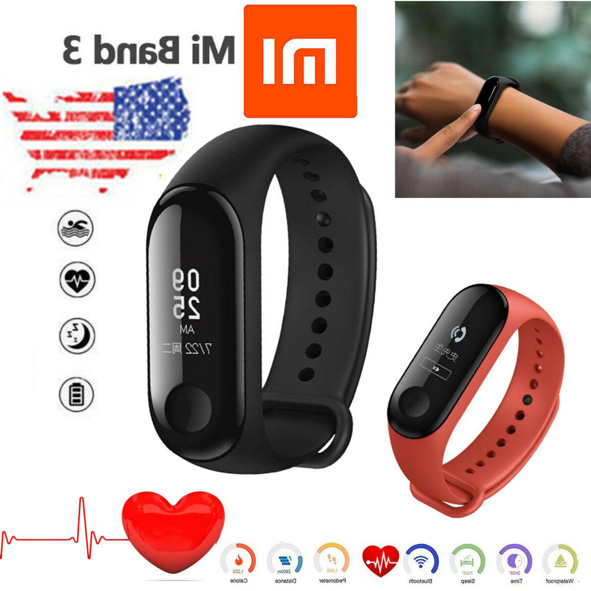 original mi band 3 smart wristband watch