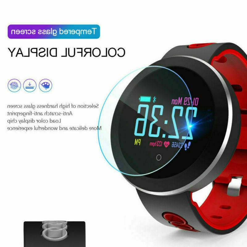 q8 bluetooth smart watch fitness heart rate