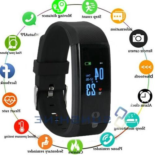 Rechargeable Fit**bit Heart Calorie Step Tracker Monitor