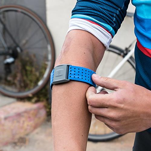 Scosche Rhythm+ Monitor - Optical Heart Rate with Dual ANT+ Bluetooth -