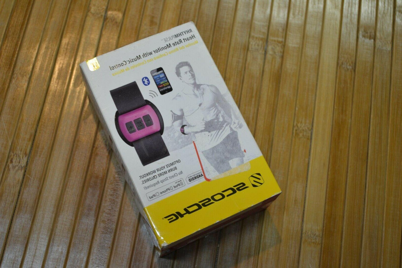 rhythm pulse armband heartrate monitor with music
