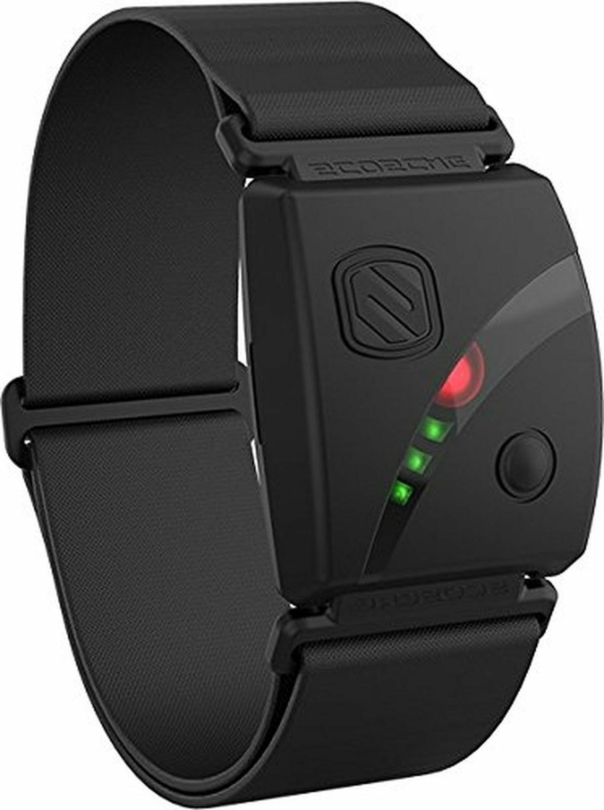 rhythm24 waterproof armband heart rate monitor black