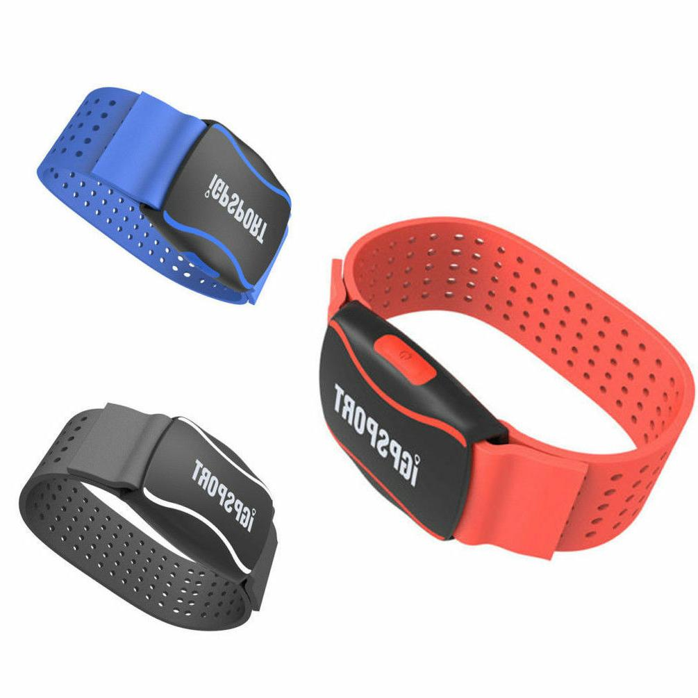 running cycling smart heart rate monitor arm