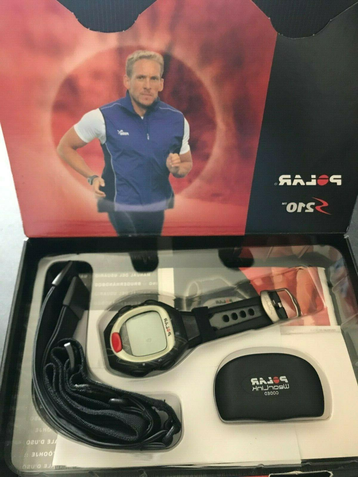 s210 heart rate monitor new in opened