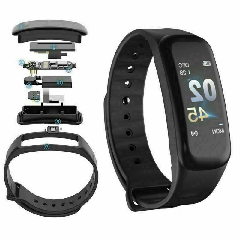 Smart Wristband Fitness Pressure US