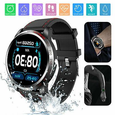 smart bluetooth sports watch heart rate blood