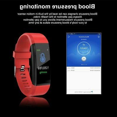 Smart Band Watch Bracelet Wristband Fitness Pressure US