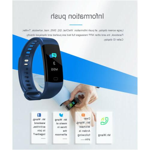 Y5 Smart Bracelet Wrist Watch Heart Blood US
