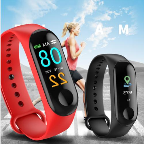 Smart Bracelet Wristband Heart Rate Pressure Tracker