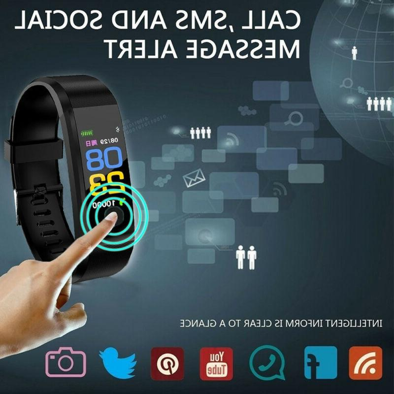 Smart Band Wristband Fitness Blood