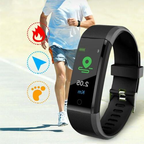 Brand Fitness Activity Tracker Heart Rate Watch