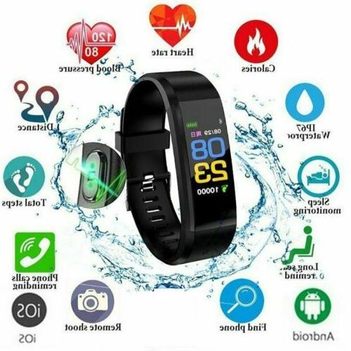 Smart Watch/Heart Monitor/Blood Pressure/Fitness Tracker