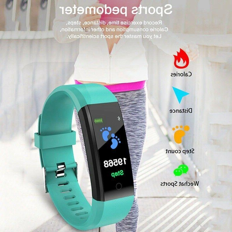 Smart Bracelet/Wristband Rate Monitor/Blood Pressure/Fitness