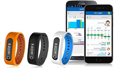 Jarv SMART BT 4.0 Activity Smart with OLED Display, Sleep Tracker and Smart for Android