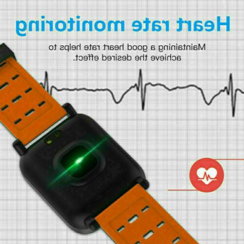 Polar Waterproof Heart Running Watch Activity