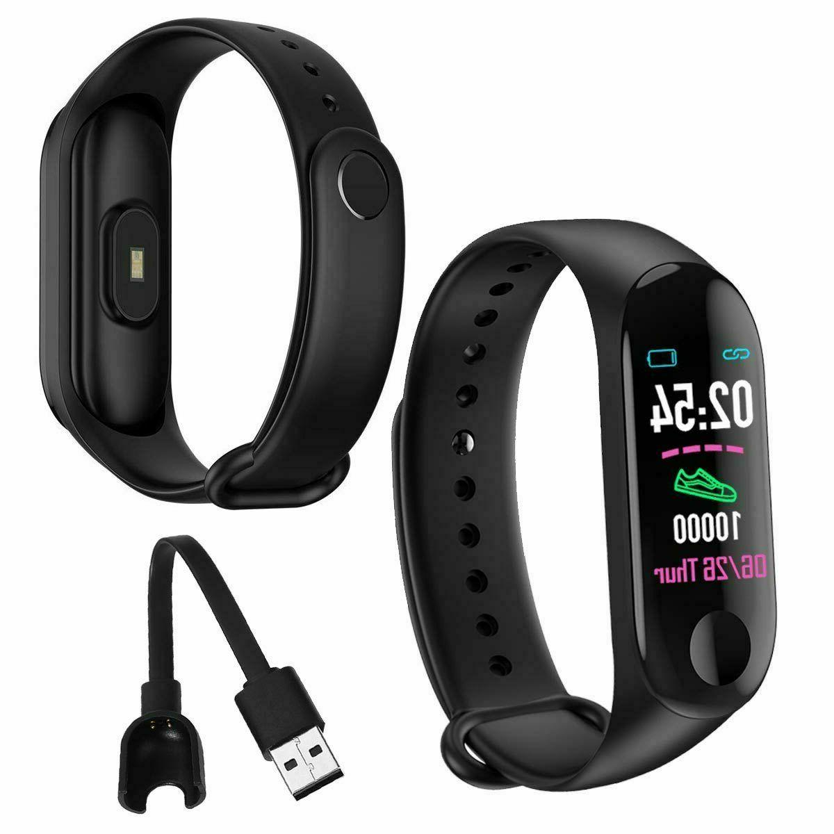 Smart Watch Heart Rate Bracelet Wristband for iOS Android