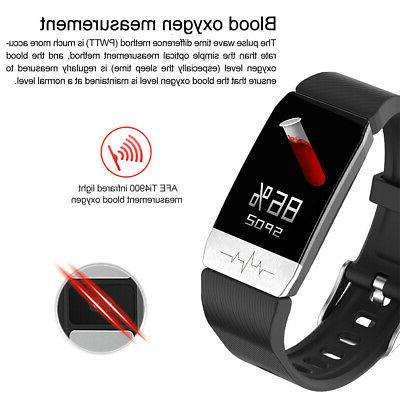 Smart Watch +ECG Blood Oxygen Pressure Body Temperature