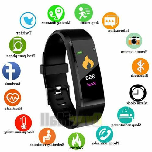 Smart Watch Fit**bit Heart Caolorie Tracker